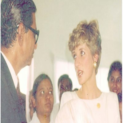 Lady Princess Diana's Visit